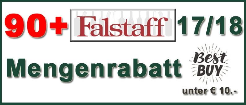 90+ Falstaff Mengenrabatt