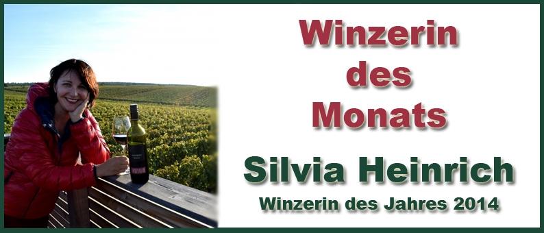 Winzer des Monats Silvia Heinrich
