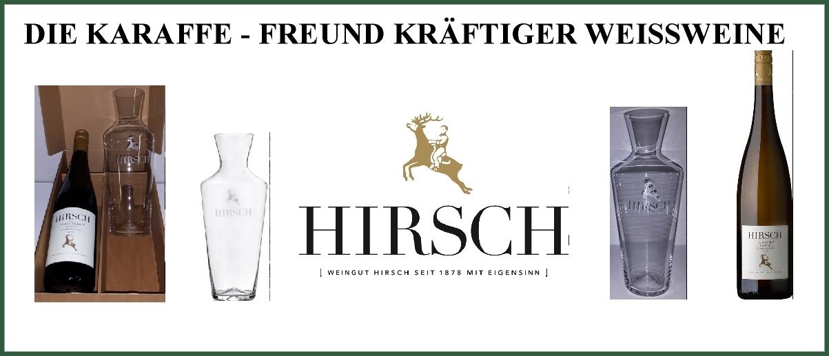 Hirsch karaffe gross