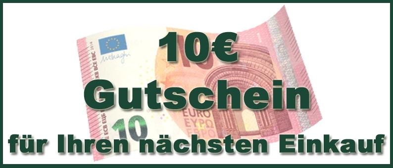 10 Euro geschenkt