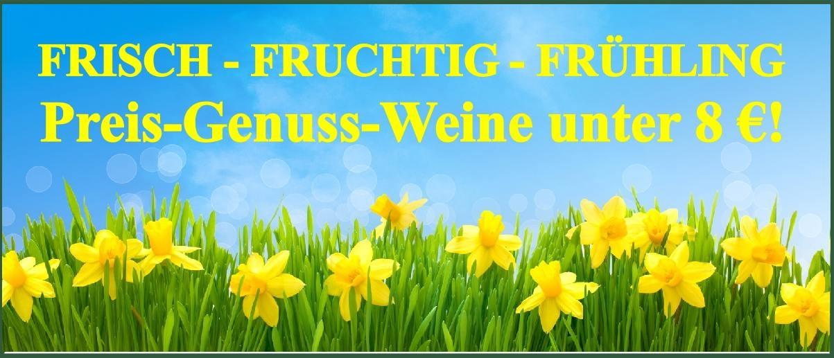 Frühling unter 8 Euro
