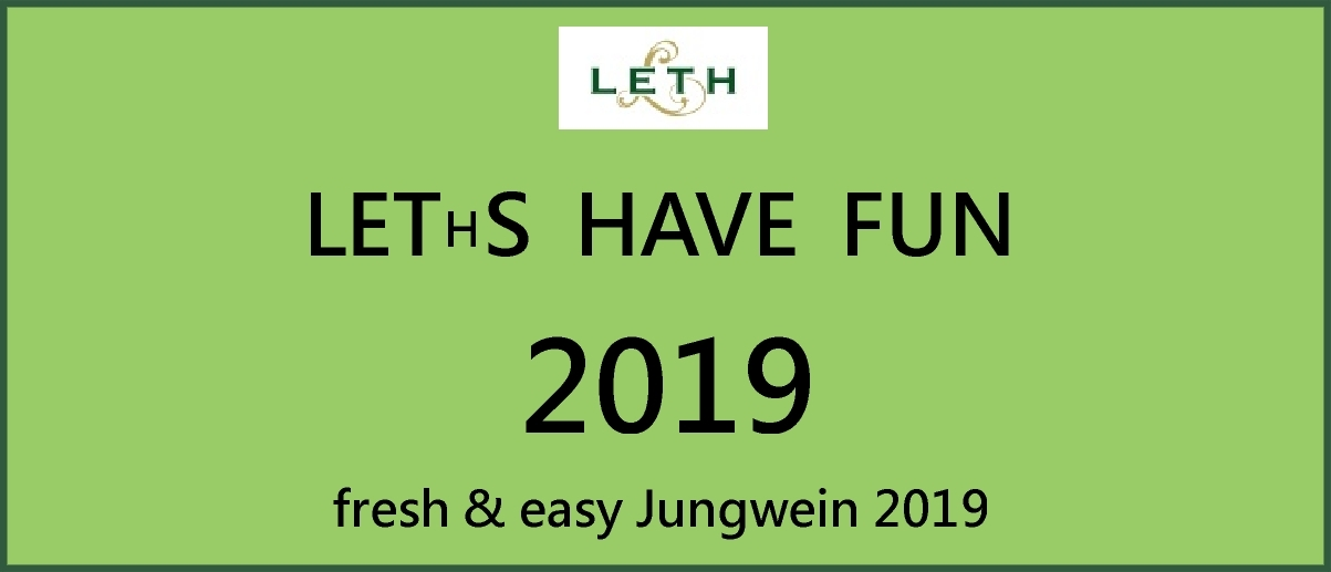 Leths have fun Jungwein