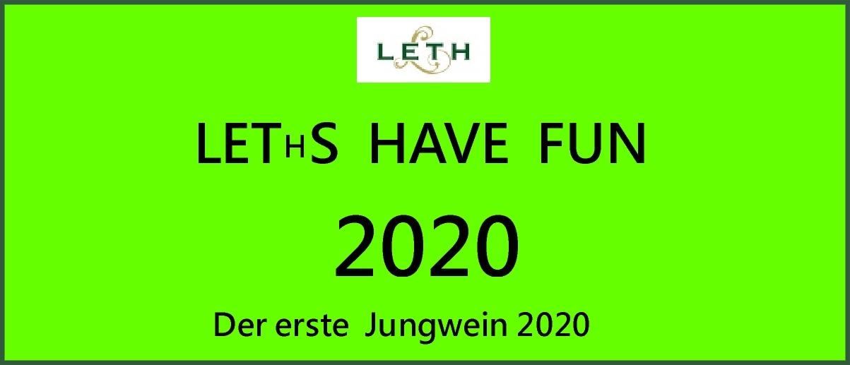 Leths have fun Jungwein
