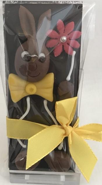 Schokolade mit Marzipan-Osterhase, 22g, Ottet