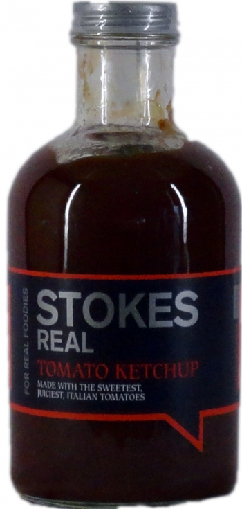 Stokes Real Tomato Ketchup, 490ml
