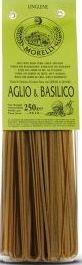Linguine aglio e basilico, 250 gr, Morelli