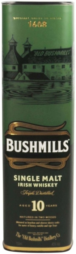 Bushmills 10 years single malt Whiskey (Irish) NV