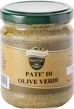 Paté olive verdi Bonamini 180 g