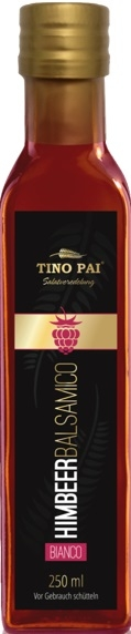 Tino Pai Himbeer Balsamico Bianco 0,25Lt