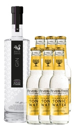 Affenzeller´s White Swan Gin im  Set mit Feever Tree Tonic