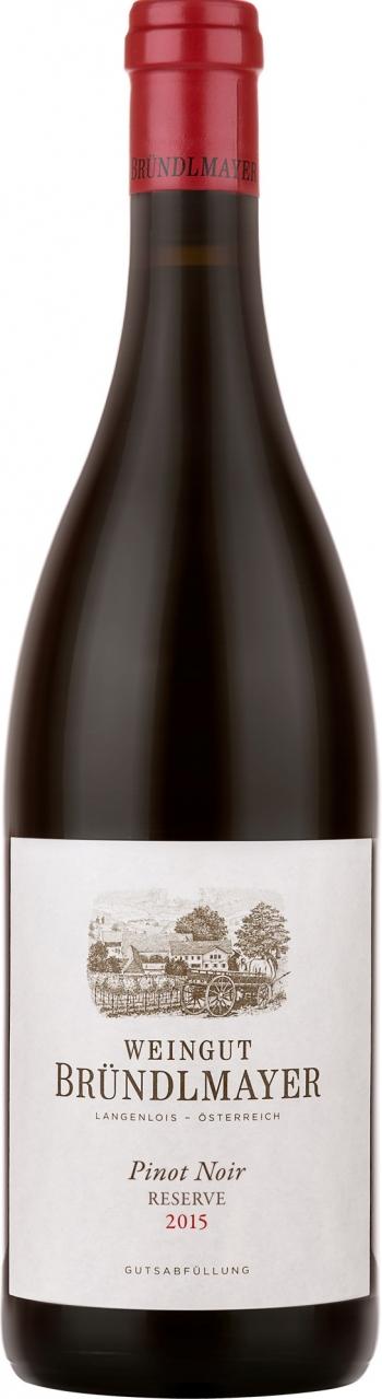 Bründlmayer Pinot Noir Reserve, Bründlmayer 2015