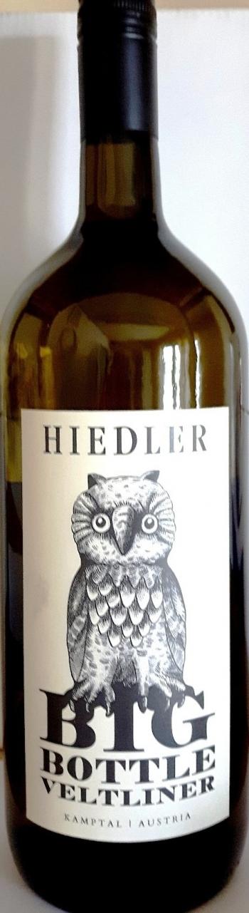 Grüner Veltliner Langenlois Big Bottle, Magnum, Hiedler 2018