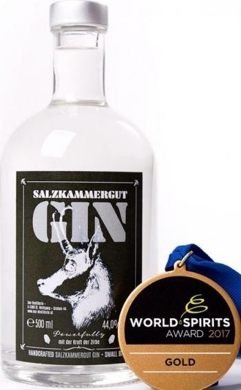 Salzkammergut Gin 44%, 0,2Lt