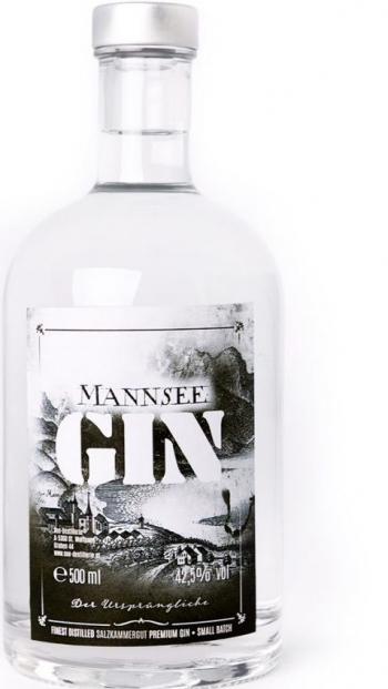 Mannsee-Gin (Mondsee-Gin) 42,5%, 0,2Lt