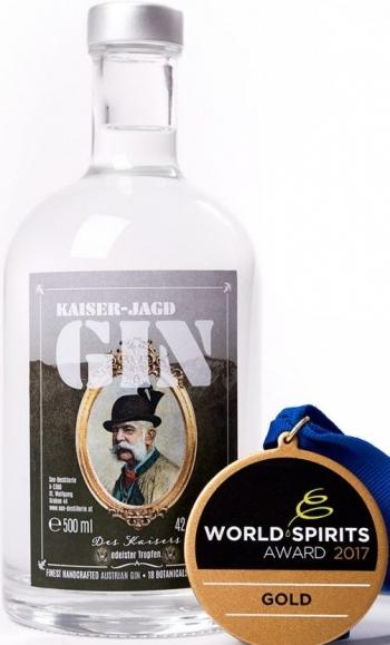 Kaiser-Jagd-Gin, 42%, 0,2Lt