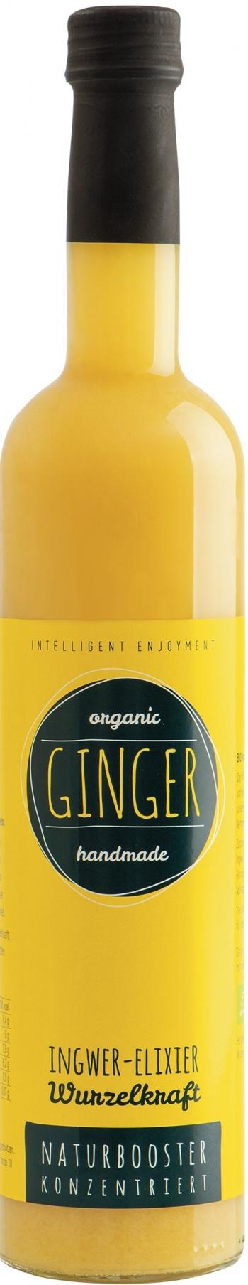 Bio Ginger Wurzel-elexier, 0,5Lt Retter