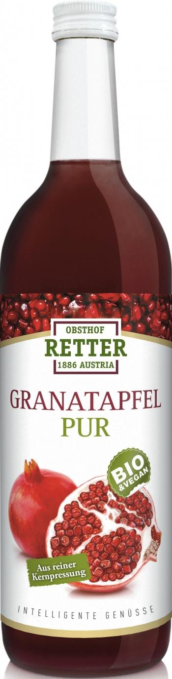 Granatapfel BIO 100% Direktsaft, 0,75Lt. Retter