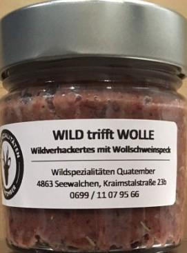 Wild trifft Wolle. 180g, Quatember