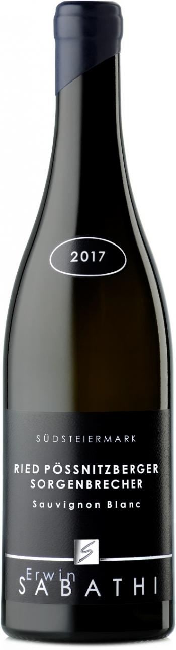 Ried Pössnitzberger Sorgenbrecher Sauvignon Blanc, 6-er OHK, Sabathi 2017