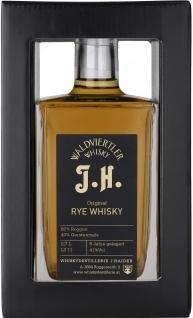 Original Rye Whisky J.H., 0,5Lt., Haider NV