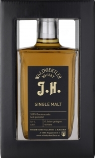 Single Malt Whisky J.H., 0,5Lt. Haider NV