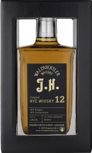 Original Rye Whisky 12 years, J.H., 0,5Lt. Haider NV