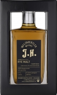 Rare Selection Rye Malt Whisky, J.H., 0,5Lt, Haider NV