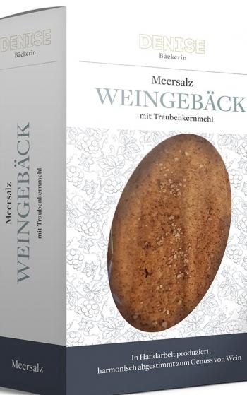 Weingebäck Dinkel, Meersalz, 100g, Denise Bäckerin