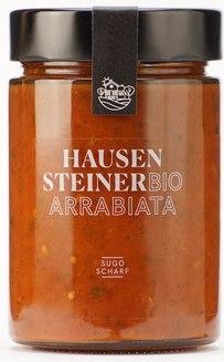 Sugo Arrabiata, BIO, 330g, Hausensteiner