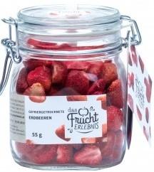 Erdbeeren im Glas, 49g, Fruchterlebnis