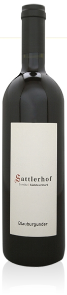 Sattler Pinot Noir Blauburgunder BIO, Sattler 2017
