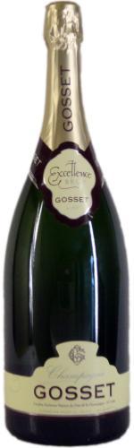 Champagne Gosset Brut Excellence Doppelmagnum NV