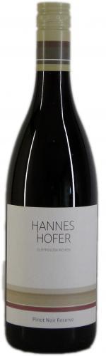 Pinot Noir Reserve, Hofer 2015
