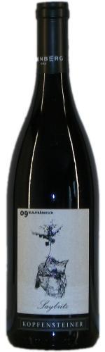 Blaufränkisch Saybritz, Eisenberg DAC Reserve, Magnum, Kopfensteiner 2012