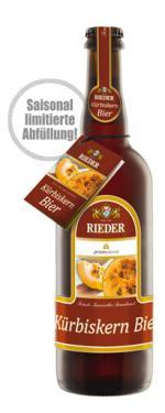 Kürbiskernbier Brauerei Ried NV