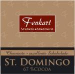 Schoko Chocuisite St. Domingo 62gr.