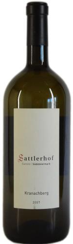 Sauvignon Blanc Kranachberg Magnum, Sattlerhof 2015