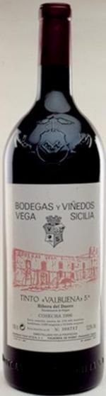 Vega Sicilia tinto valbuena 5 2008