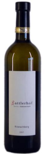 Sauvignon blanc Kranachberg, KELLERRESERVE,  Sattlerhof, 2015