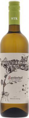 Welschriesling Südsteiermark, BIO,  Sattler 2017
